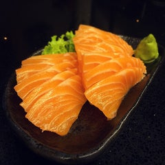 Photo taken at Standing Sushi Bar by Brandon L. on 1/13/2015