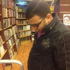 Photo taken at El Shorouk Bookstore by Muhammad M. on 2/21/2013