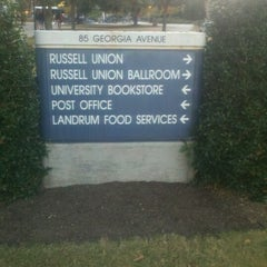Photo taken at Georgia Southern Bookstore by Tereance P. on 11/10/2012