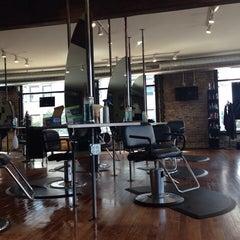 Photo taken at Milios Hair Studio by Lish on 8/27/2014