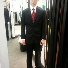 Photo taken at Men's Wearhouse by Wendy B. on 4/19/2013