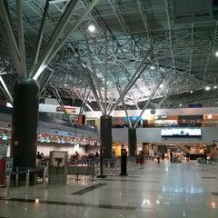Photo taken at Aeroporto Internacional do Recife / Guararapes (REC) by André S. on 6/10/2013