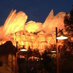 Photo taken at Radiator Springs Racers by Mitch E. on 2/15/2013