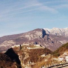 Photo taken at Castel Beseno by Barbara T. on 11/21/2014
