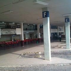 Photo taken at Terminal Rodoviário de Ouro Preto by Yumi I. on 10/31/2012