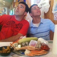 Photo taken at The Mad Crabber by Alicia P. on 7/24/2013