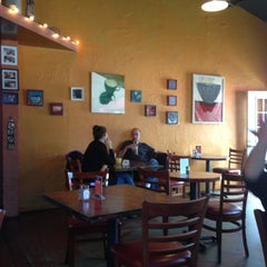 Photo taken at Aqus Cafe by Sandy L. on 5/7/2013