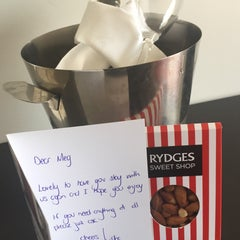 Photo taken at Rydges Latimer Christchurch by Meg M. on 11/23/2015