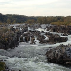 Photo taken at Great Falls National Park by Joe M. on 10/14/2012