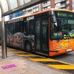 Photo taken at Estación de Autobuses de Santander by Andrés M. on 11/9/2012