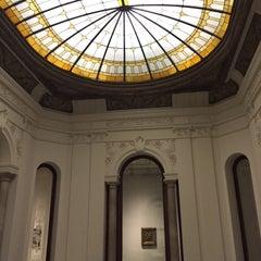 Photo taken at Fundación Francisco Godia by Andrés M. on 2/1/2015