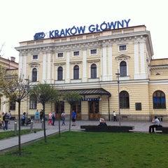 Photo taken at Kraków Główny by Andrés M. on 4/27/2013