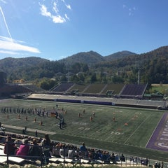 Photo taken at Western Carolina University by Julie M. on 10/18/2014