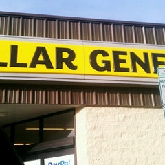 Photo taken at Dollar General by Rob C. on 12/23/2012