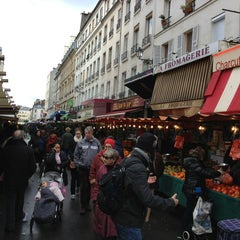 Photo taken at Marché d'Aligre by Jean-Michel D. on 2/6/2013