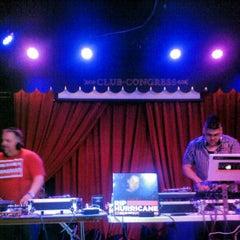 Photo taken at Club Congress by Juan C. on 12/5/2012