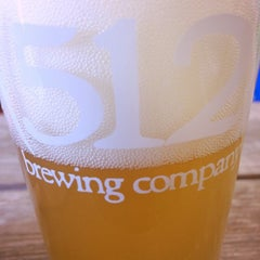 Photo taken at (512) Brewing Company by Michele S. on 8/1/2015