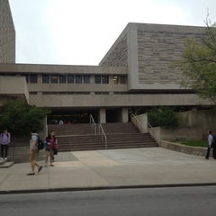 Photo taken at Herman B Wells Library by Alexandra M. on 4/28/2013