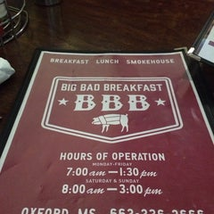 Photo taken at Big Bad Breakfast by Stephen A on 7/24/2015