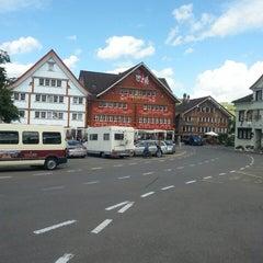 Photo taken at Landsgemeindeplatz by Andy K. on 8/14/2014