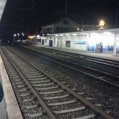 Photo taken at Bahnhof Dübendorf by Andy K. on 9/19/2012