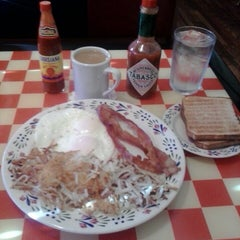 Photo taken at Egg'lectic Cafe by Mark J. on 7/23/2014