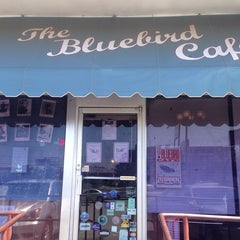 Photo taken at Bluebird Cafe by Mark H. on 7/12/2013