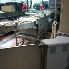 Photo taken at Krispy Kreme Doughnuts by Melanie D. on 11/25/2012