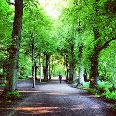 Photo taken at Hampstead Heath by Shaun B. on 6/6/2013