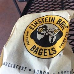 Photo taken at Einstein Bros Bagels by Kennard W. on 4/17/2015