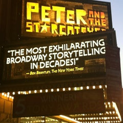 Photo taken at Peter and the Starcatcher by John C. D. on 1/20/2013