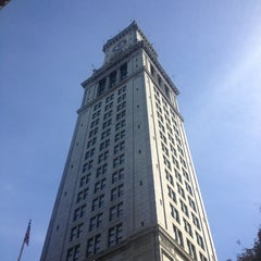 Photo taken at Marriott's Custom House by Lawrence B. on 10/17/2012