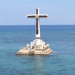 Photo taken at Sunken Cemetery Cross by Ron C. on 5/26/2015