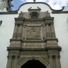 Photo taken at La Parroquia De San Gabriel Arcángel by Francisco P. on 6/10/2014