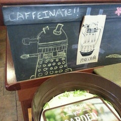 Photo taken at Caribou Coffee by Bubbles {. on 5/31/2014