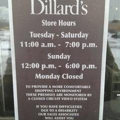 Photo taken at Dillard's by Julian K. on 3/21/2013