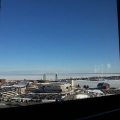Photo taken at Radisson Hotel Duluth-Harborview by Juliet E. on 2/16/2013