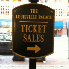 Photo taken at Louisville Palace Theatre by Chanda G. on 1/3/2013