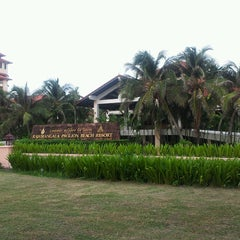 Photo taken at Rajamangala Pavilion Beach Resort by Suthisa J. on 6/4/2013