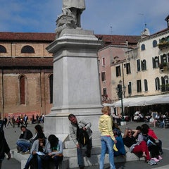 Photo taken at Campo San Stefano by Sergej on 5/11/2013