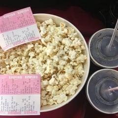 Photo taken at Empire Cinema by Hazal on 4/9/2013