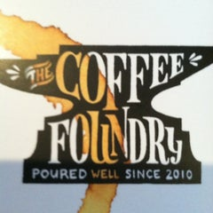 Photo taken at Coffee Foundry by Shannon M. on 4/6/2013