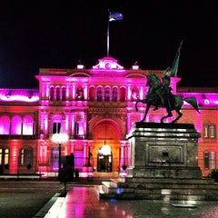 Photo taken at Plaza de Mayo by Victor A. on 4/10/2013
