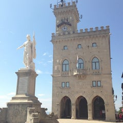 Photo taken at Palazzo Di Governo San Marino by Aprendiz d. on 7/6/2013