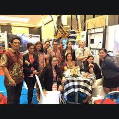 Photo taken at Bali Nusa Dua Convention Center (BNDCC) by Jeffrey W. on 6/12/2015