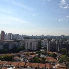 Photo taken at Mercure São Paulo Nações Unidas by Ryan G. on 10/22/2012