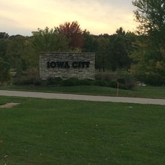 Photo taken at Iowa City, IA by Julie S. on 10/10/2014