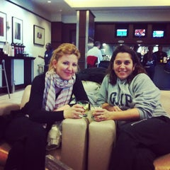 Photo taken at Lufthansa Senator Lounge by Spiros L. on 2/10/2013