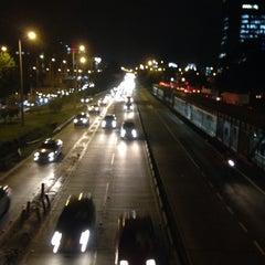 Photo taken at TransMilenio: Pepe Sierra by Elkin G. on 4/12/2014