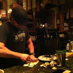 Photo taken at Rodney's Oyster House by Stella Y. on 2/6/2013
